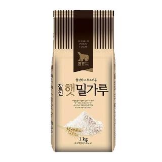 [슈퍼마트]곰표찰진햇밀가루 1kg